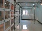 Aluminum full view Glass Garage door overhead door manufacturers