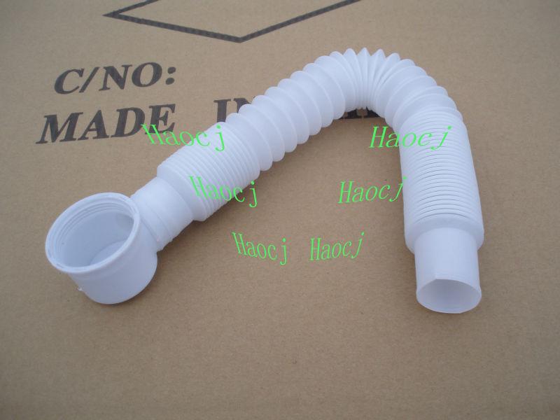 Bathtub Drain Cleaning Flexible Pipe Bathroom Flexible Drain Plastic Pipe For