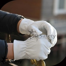 SRSAFETY High quality pig grain lady leather driving glove