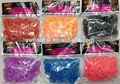 200pcs fashion education kit DIY weaving loom bands bracelet
