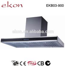 tipo t 900 mm di 5 velocità con deflettore cucina filtro commerciale in acciaio inox cappa