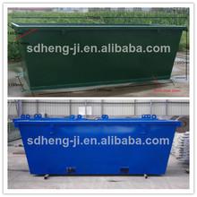 scrap bin / / tipping bin / waste container bin with door