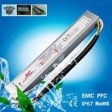 PFC EMC waterproof ip66 constant current 350ma led driver 25w 70v