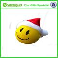 وجه مبتسم سعيد عيد الميلاد سانتا كلوز هات سيارة شاحنة العفنsuv الهوائي توبر