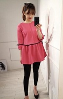 Z71157A 2014 Hot sale KOREAN style lovely MATERNITY DRESS