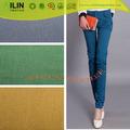 Nuevo diseño 100% tela de algodón para pantalettes llano teñido de tela traje