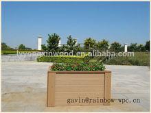 factory environmental wpc garden furniture/wpc deck/wpc flower pot