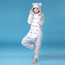 Cute fat cat one-piece loose animal cosplay for adult unisex fashion pajamas