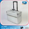 GL-S025 pure Aluminum sheet trolley attache case /aluminum briefcase