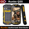 Runbo Q5S quad core android 1+8GB/2+8MP/3G sunlinght readable rugged smart phones 2014
