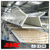 potato chips cooling tunnel/food cooling machine