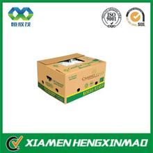 Banana Packaging Box with Hole/ corrugated carton, packaging carton for banana/fruit box