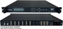 4in1 DVB-S2 to QAM Modulator with Scrambler (6 DVB-S/S2+6 ASI in,4 QAM RF out)