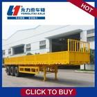 L1 flatbed container tipper cargo skeleton semi trailer truck