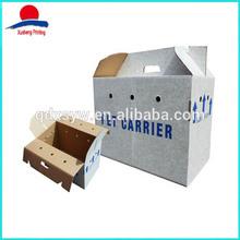 Custom High Quality Portable Corrugated Box