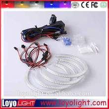 e90 rgb angel eyes , rgb led angel eyes colors for colorful led ring light E36/E38/E39/E46 projector
