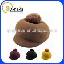 Sunny Shine custom cheap christmas winter women wool hat