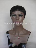 2014 hotsale synthetic hair wigs for men