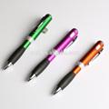 Especial diseñado y novedad de plástico bolígrafo con la linterna blanca