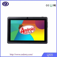 China Factory 7 Inch A23 WIFI Bluetooth OEM Android Tablet Q88
