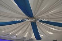Wedding chiffon ceiling drops