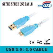High Grade - USB 3.0 Cable for Western Digital / WD / Seagate / Clickfree / Toshiba / Samsung