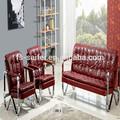 Las ventas caliente cromo muebles& ejecutivo sofá de la sala& arábica sofás sala estar