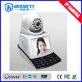 onvif لاسلكي كاميرا ip، كاميرا ip p2p، البطاقة الذكية 3c bs-ips02 دردشة فيديو كاميرا ويب