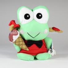 "Sanrio 8"" Keroppi Girl Ice Cream Plush Soft Toys Frog"