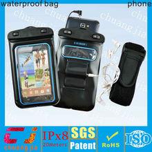 Hot Fashional tpu headphones waterproof bags phone
