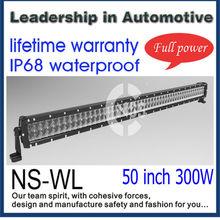 50 inch 300W lifetime warranty offroad led light bar,4*4 led,led light bar go kart