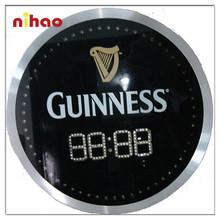 Promotional Illuminated LED Large Digital Wall Clock