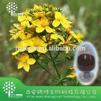 Anti-depression Natural Plant Extract St John Wort powder extract and St John Wort herb powder