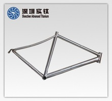 Light Weight TC4 Customized Casting Titanium Alloy Bike Frame