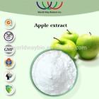 HACCP FDA KOSHER China supplier skin beautifying antioxidant,restrain skin melanin apple extract benefits
