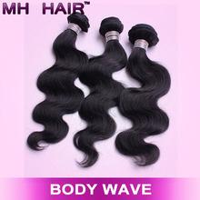5A Indian Virgin Hair body wave 100% Human Hair Weave Bobbi Boss 100g/bundle indian remy hair weave