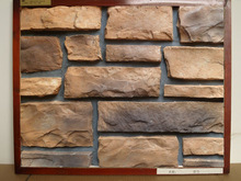 Exterior cultured stone products