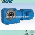 venta caliente del engranaje cónico helicoidal reductor de la serie k limpiador de motor de engranajes