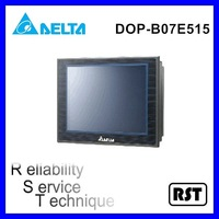 "Delta DOP-B07E515 with 7"" high color high resolution TFT LCD display HMI Touch Screen"