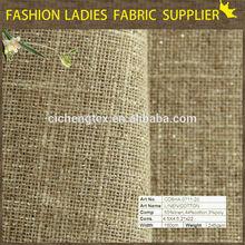 new arrival fashion fabric linen cotton blend fabric for trousers/shirts/dresses/garments bulk jute linen fabric