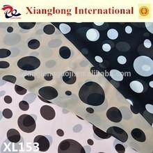 XL153 Cheap Stock Lot Chiffon Textile Verious Polka Dot