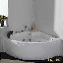 LR-135 modern design sanitary ware high quality acrylic massage bathtub