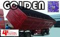 Foshan ouro carvão transporte lado virar/lateral semi-reboque basculante