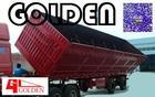 Foshan Golden Coal Transport Side Turn/ Side Semi Trailer Tipper