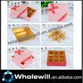 Estrela caixa de papel dobradura de Chocolate