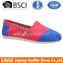 Wholesale Fashion Lady Dress Shoes Canvas Women Dress Shoes
