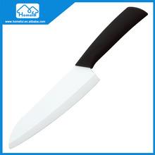 Ergonomic kitchen ceramic chef knife