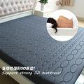 2015 novo estilo de memória espuma colchão da cama com tecido de malha ar