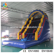 American style small inflatable water slide