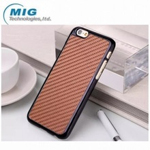 2014 New product 7 colors Carbon Fiber PC mobile phone cover for iphone 6, for iphone 6 case with factory price